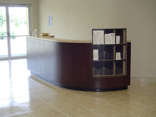 Custom Made Reception Desk - Farmers Branch, Texas