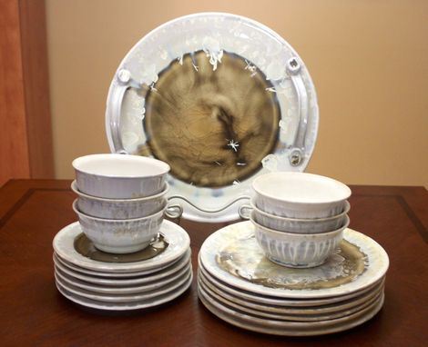 Custom Made Dinnerware Service For 6
