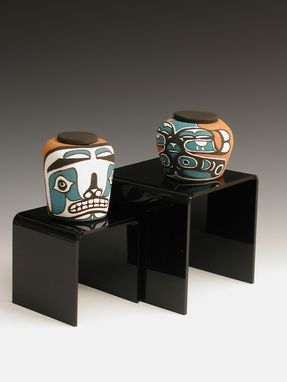Custom Made Nw Native Keepsake Portion Urns