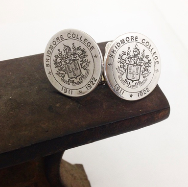 Custom Made Logo Cufflinks - Wedding Monogram Cufflinks - Any Image Or Text Available