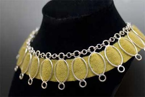 Custom Made Sterling Silver Necklace With Mix-And-Match Threaded Elements