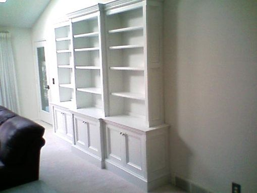 Custom Made Professor's Bookcase