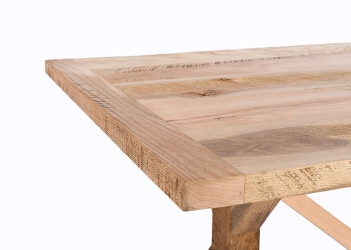 Custom Made The Reclaimed Wood French Trestle Farm Table