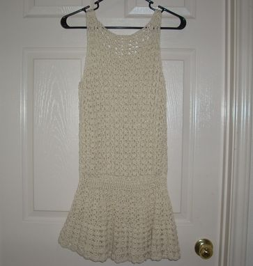 Custom Made Flapper Style Swimsuit Cover Up