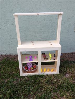Custom Made Toy Food Stand/Market