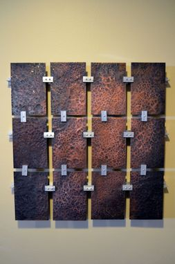 Custom Made Hammered Copper Wall Art