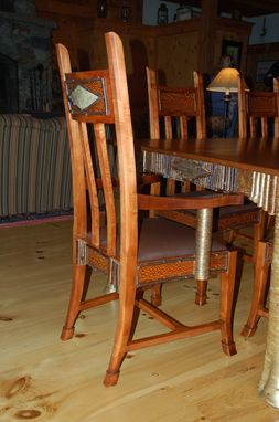 Custom Made Adirondack/Great Camps Style Dining Room Chairs