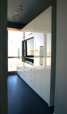 Custom Made Contempory Built-Ins