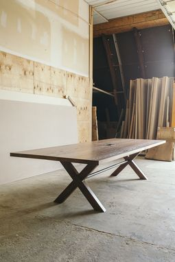 Custom Made Trestle Conference Table