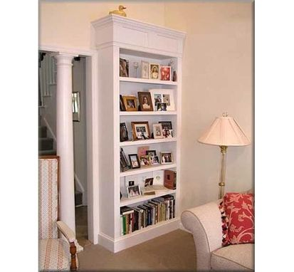 Custom Made Built-In Bookcase