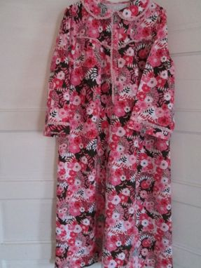 Custom Made Nightgowns, 100% Cotton Flannel