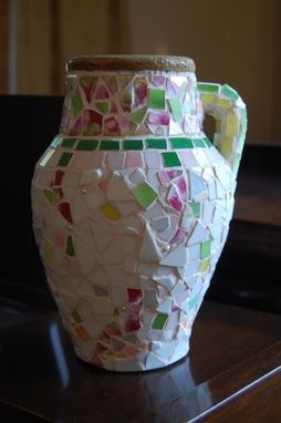 Custom Made Heirloom Mosaic Vase