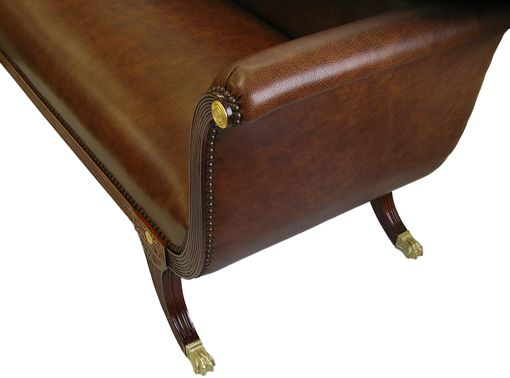 Custom Made Gilt Phyfe Settee
