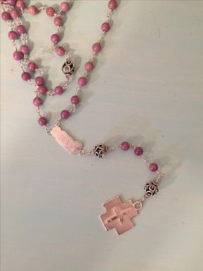 Custom Made Rosary Beaded Sterling Silver (Catholic Roseries)