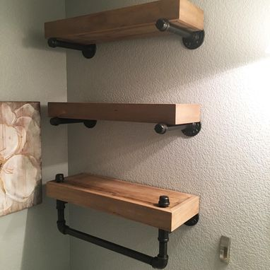 Custom Made Industrial Shelves