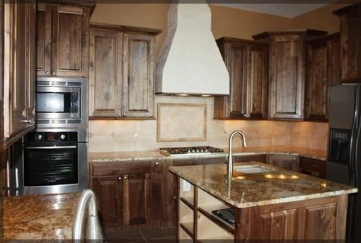 Custom Made Walnut Custom Kitchen