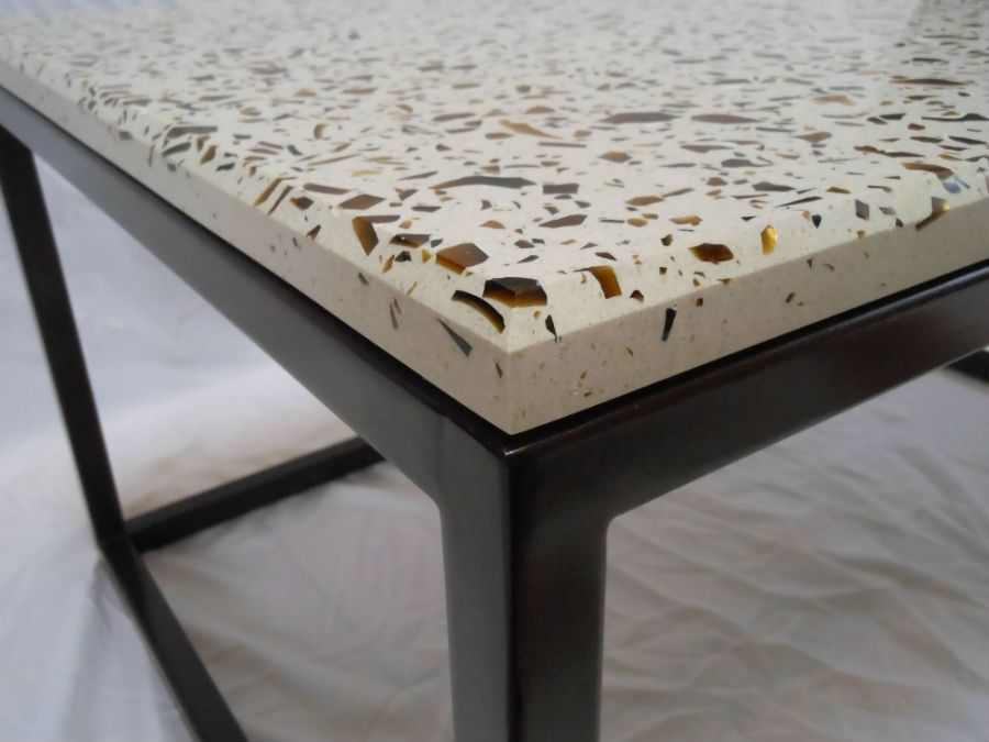 Hand Crafted Concrete Coffee Table By Concrete Confections