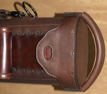 Custom Made Corey's Leather Poolstick Case