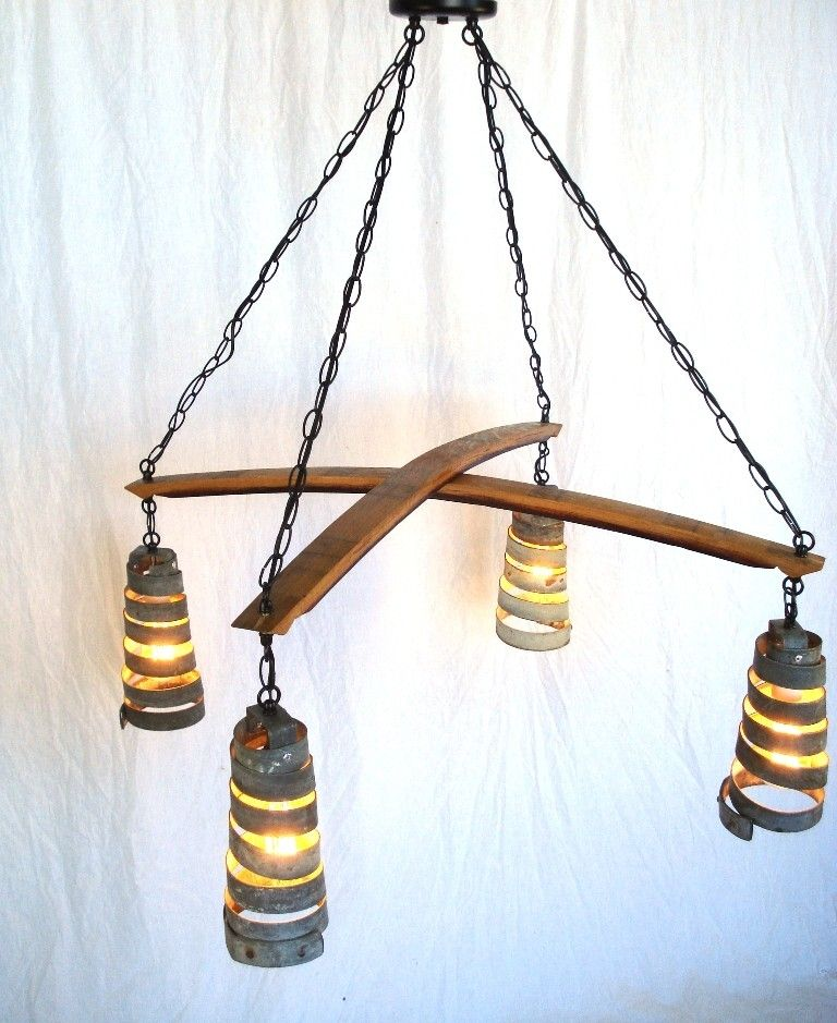 Buy a hand made stave intersect barrel stave and ring chandelier custom made stave intersect barrel stave and ring chandelier aloadofball Gallery