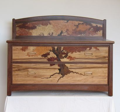 Custom Made Tree Chest