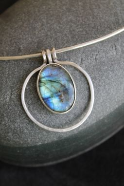 Custom Made Birthday Gift Labradorite Necklace