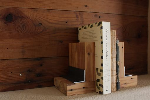 Custom Made Reclaimed Book Ends
