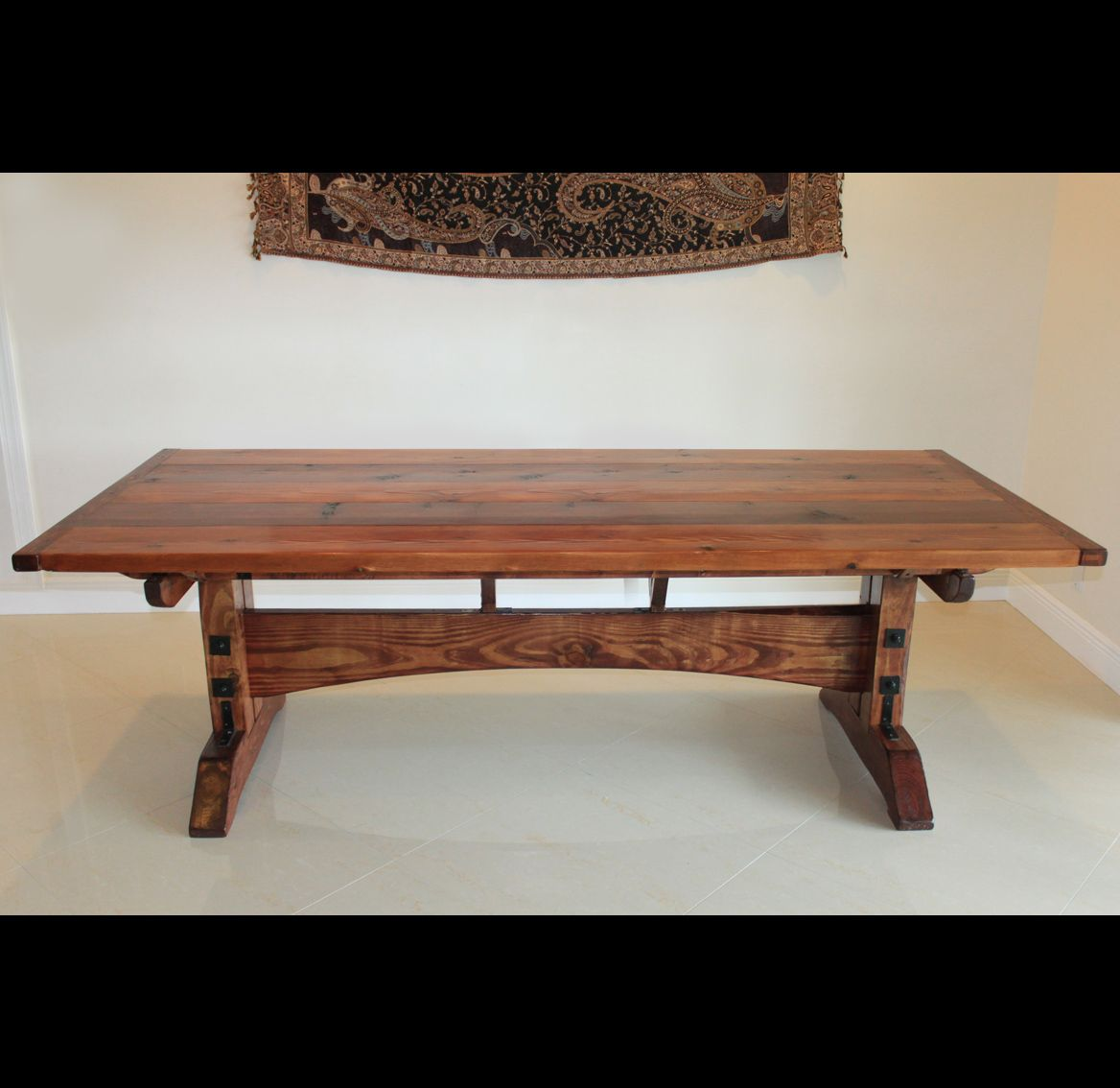 Custom Built Dining Room Tables: Handmade Rustic Dining Table By Fine Dining Table