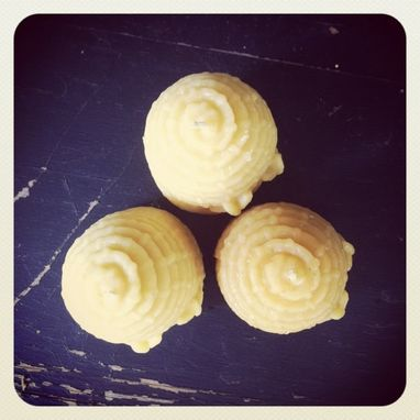 Custom Made Pure Local Beeswax // Hives // Skeps // Set Of 3