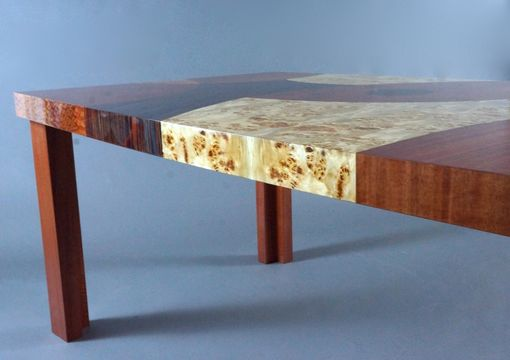 Custom Made Veneer Patchwork Table