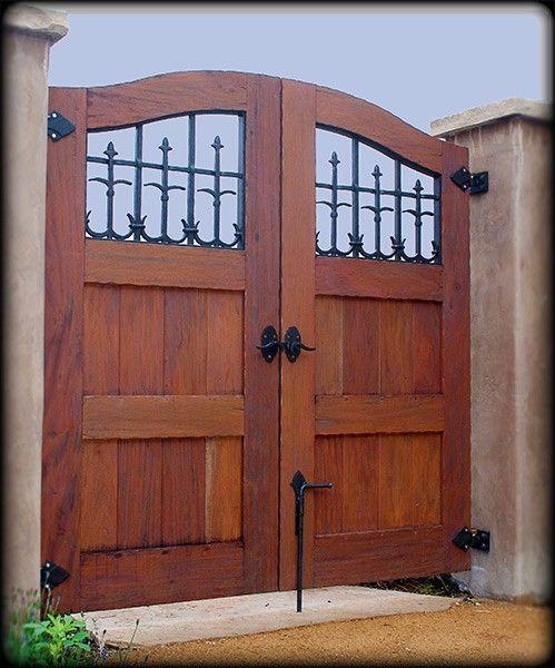 Handmade Custom Exterior Wood Gate By Adney Amp Sons Fine