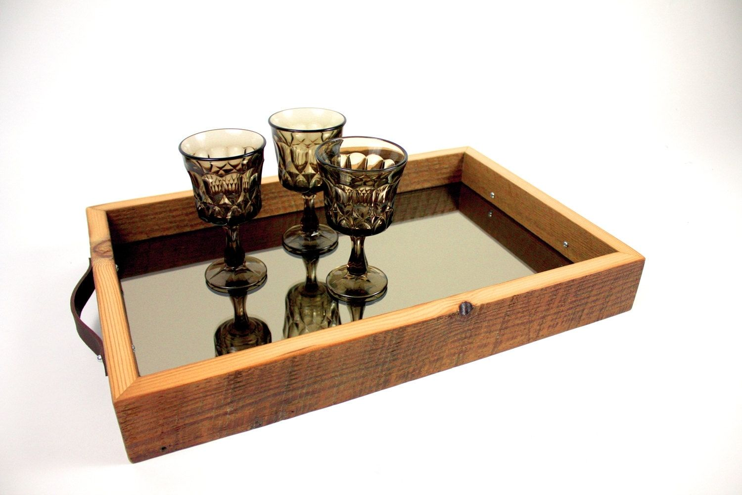 Custom Frysl 226 N Serving Tray Reclaimed Barn Wood
