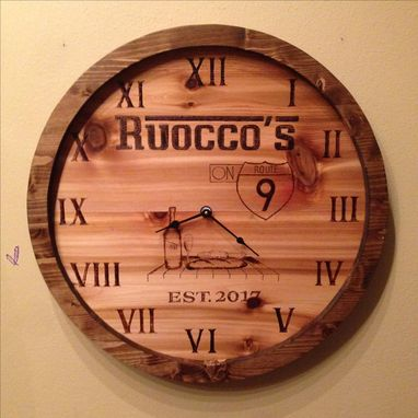 Custom Made Custom Clock
