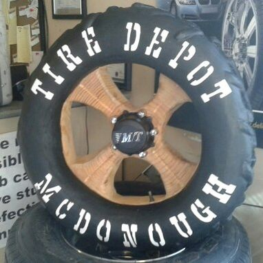 Custom Made The Tire