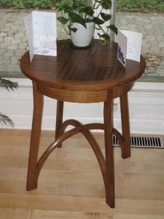 Custom Made Round End Table