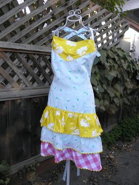 Custom Made Colorful Women's Apron