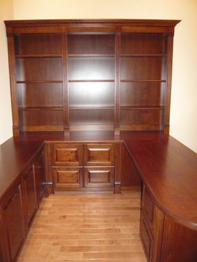 Custom Made Traditional Maple Home Office