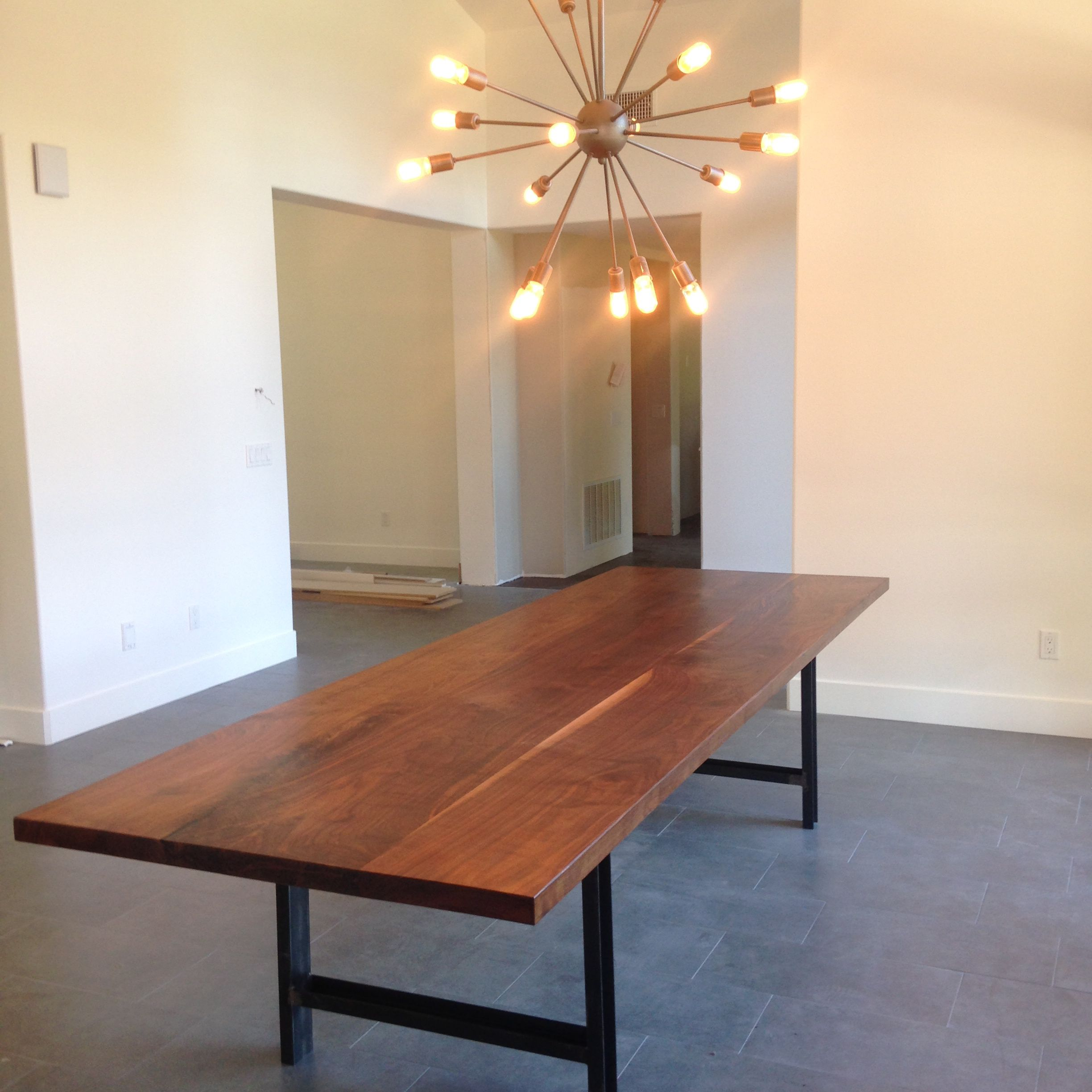 Buy A Custom Made Contemporary Solid Walnut Conference