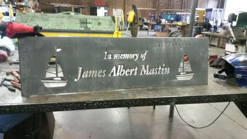 Custom Made Memorial, Personlized Bench