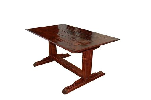 Custom Made Rustic Dining Table
