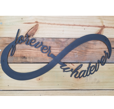 Custom Made Custom Infinity Name Signs
