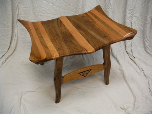 Custom Made Wave Bench