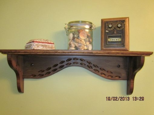 Custom Made Simple Shelf, Sunset Model