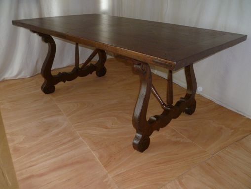 Custom Made Extraordinary & Rare Farmhouse Table