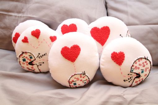 Custom Made Valentines Pillows