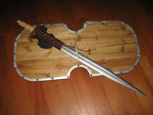 Custom Made Wooden Sword & Shield
