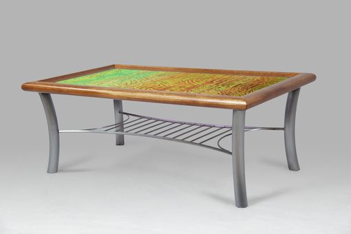 "Custom Made ""Sunset"" Coffee Table"