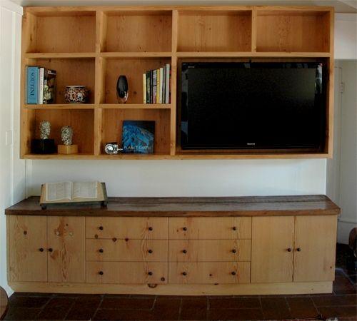Handmade Reclaimed Douglas Fir Cabinets And Bookshelves by ...