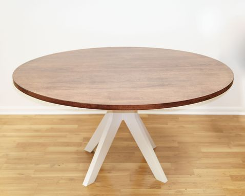 Custom Made South Orange Round Kitchen Table