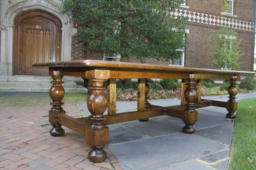 Custom Made Restoration Example Refectory / Dining Table (Available As A Reproduction!)