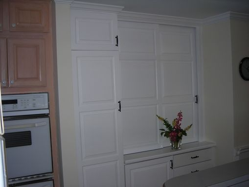 Custom Made Custom Kitchen Pantry